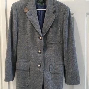 Houndstooth Ralph Lauren Blazer - size 10